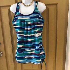 ATHLETA BLUE TANK TOP SIZE M